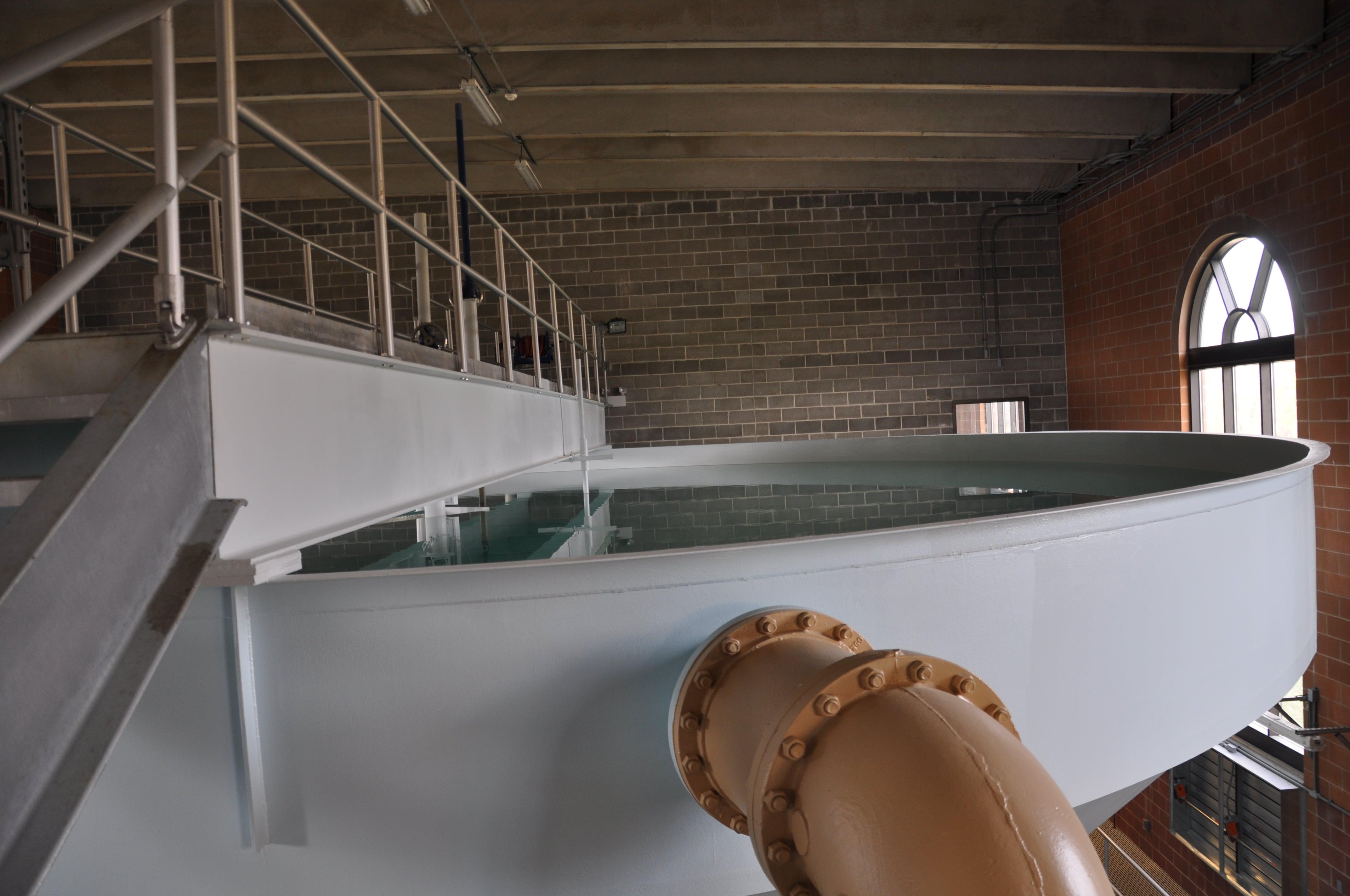 Water Treatment Tub